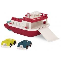 DUŻY PROM statek z autkami