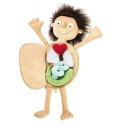 ERWIN mały pacjent edukacyjna przytulanka Soft&Play