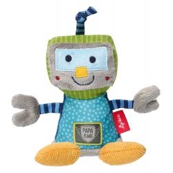 ROBOT pluszowa grzechotka przytulanka Papa&Me