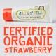 TRUSKAWKA naturalna pasta do zębów organiczna 50g