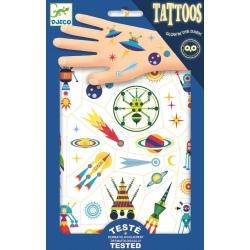 KOSMOS tatuaże świecące w ciemności