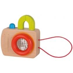 APARAT drewniany kalejdoskop