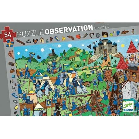 ZAMEK RYCERZA puzzle obserwacje