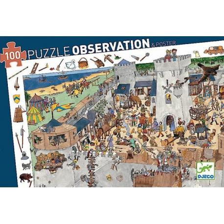 OBLĘŻONY ZAMEK puzzle obserwacje