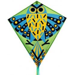 SÓWKA duży latawiec z linką 60x70 cm