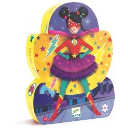SUPER STAR tekturowe puzzle 36 el.