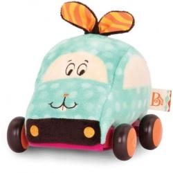 KRÓLICZEK pluszowe autko z napędem