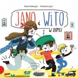 JANO I WITO. W DOMU książeczka dla dzieci