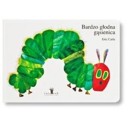 BARDZO GŁODNA GĄSIENICA książka dla dzieci