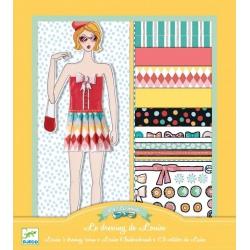 LOUISE zestaw do projektowania ubrań