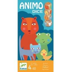 ANIMO DICE drewniana gra losowa