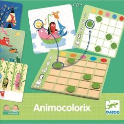 ANIMOCLORIX gra nauka kolorów EDULUDO