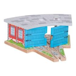 Drewniana parowozownia