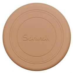 BRĄZOWE silikonowe zwijane frisbee