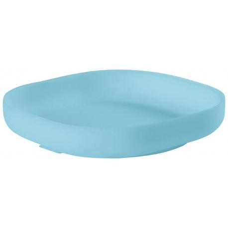 BLUE silikonowy talerzyk z przyssawką
