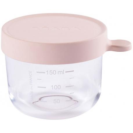 PINK szklany słoiczek do żywności 150 ml