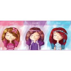 ZMYWALNE KREDY do włosów 3 kolory
