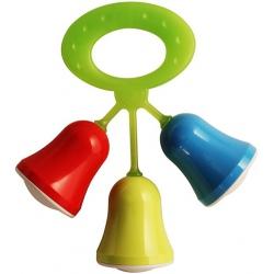 DZWONECZKI dzwoniąca plastikowa grzechotka