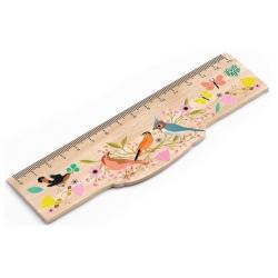 TINOU drewniana linijka 15 cm