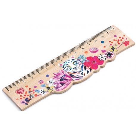 MARTYNA drewniana linijka 15 cm