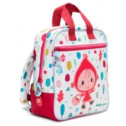 CZERWONY KAPTUREK plecak dla przedszkolaka