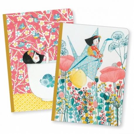 MISA notes zestaw 2 szt. w linie i gładki Lovely Paper