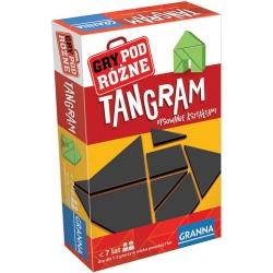 TANGRAM gra logiczna układanka geometryczna