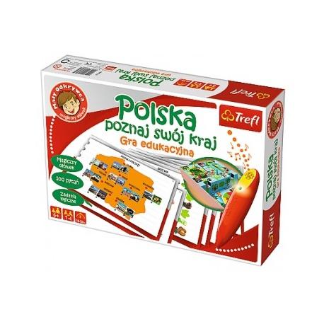 POLSKA poznaj swój kraj gra edukacyjna