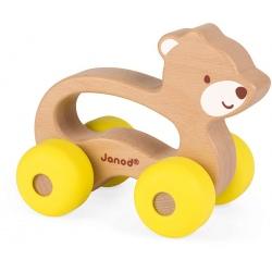 MIŚ drewniany pojazd Baby Pop