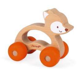 LISEK drewniany pojazd Baby Pop