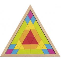 MOZAIKA drewniana układanka geometryczna