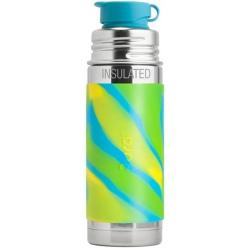 BŁĘKITNA TERMOBUTELKA Swirl Edition 260 ml