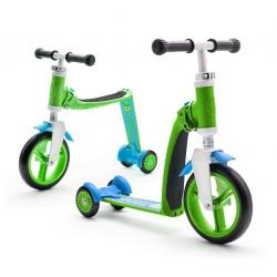 HIGHWAYBABY PLUS 2w1 hulajnoga rowerek Green