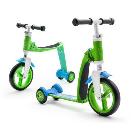 HIGHWAYBABY PLUS 2w1 hulajnoga i rowerek 1+ Green