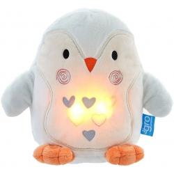 PINGWIN PERCY szumiąca przytulanka z czujnikiem płaczu i lampką nocną