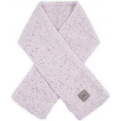BAWEŁNIANY SZALICZEK Confetti knit pink