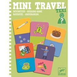 TEKI tekturowa mini gra podróżna zgadywanki