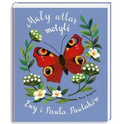 MAŁY ATLAS MOTYLI Ewy i Pawła Pawlaków książka dla dzieci