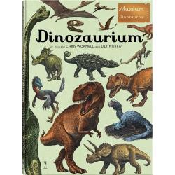 DINOZAURIUM książka album wieloformatowy Lily Murray