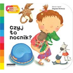 CZYJ TO NOCNIK? książeczka Akademia Mądrego Dziecka Zbigniew Dmitroca