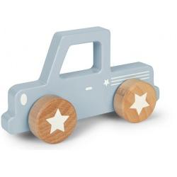 NIEBIESKI PICK UP drewniany pojazd