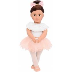 VALENCIA duża lalka baletnica 46 cm