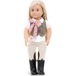 LEAH duża lalka dżokejka 46 cm