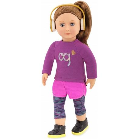 ALICIA duża lalka szatynka 46 cm