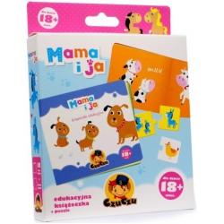 MAMA I JA książeczka edukacyjna z puzzlami