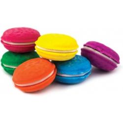 MAKARONIKI gumki zapachowe do mazania 6 szt.