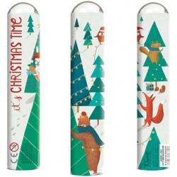 BOŻE NARODZENIE tekturowy kalejdoskop It's Christmas Time