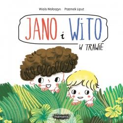 JANO I WITO. W TRAWIE książeczka dla dzieci Wiola Wołoszyn, Przemek Liput