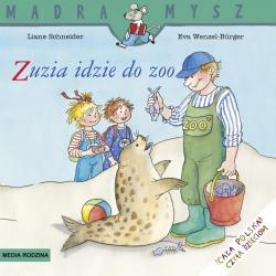 ZUZIA IDZIE DO ZOO książeczka Liane Schneider