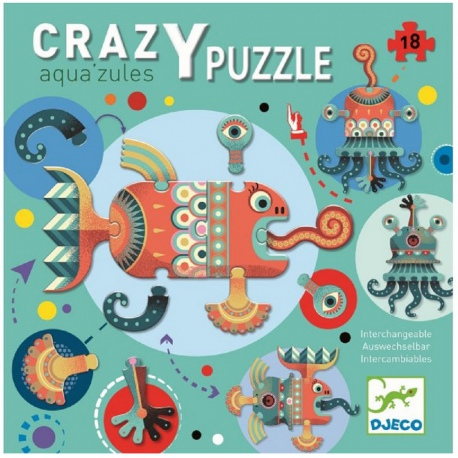 AQUA ZULES puzzle tekturowe 18 el.